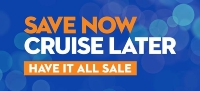 holland america - save now cruise later